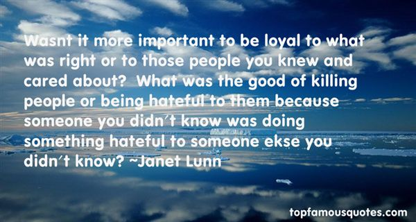 Janet Lunn Quotes