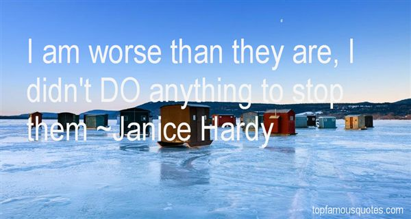 Janice Hardy Quotes