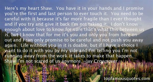 Jay Crownover Quotes