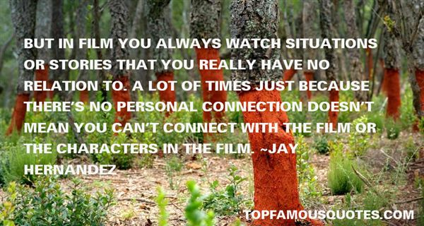 Jay Hernandez Quotes