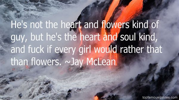Jay McLean Quotes