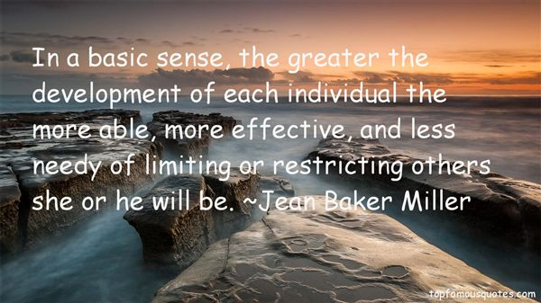 Jean Baker Miller Quotes