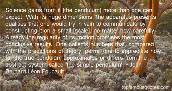 Jean Bernard Léon Foucault Quotes