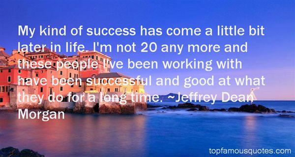 Jeffrey Dean Morgan Quotes