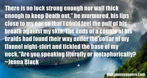 Jenna Black Quotes