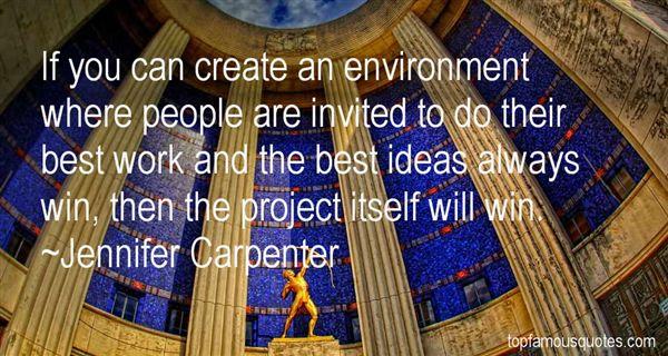 Jennifer Carpenter Quotes