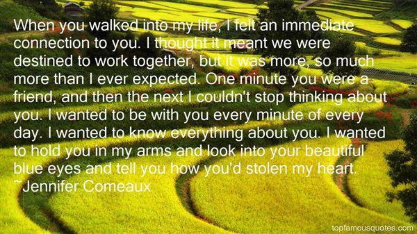 Jennifer Comeaux Quotes