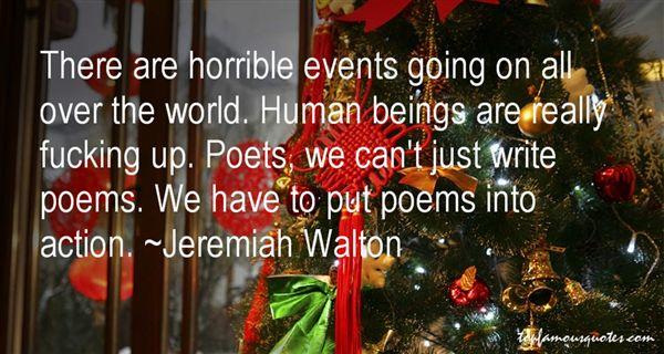 Jeremiah Walton Quotes