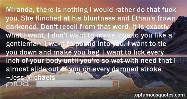 Jess Michaels Quotes