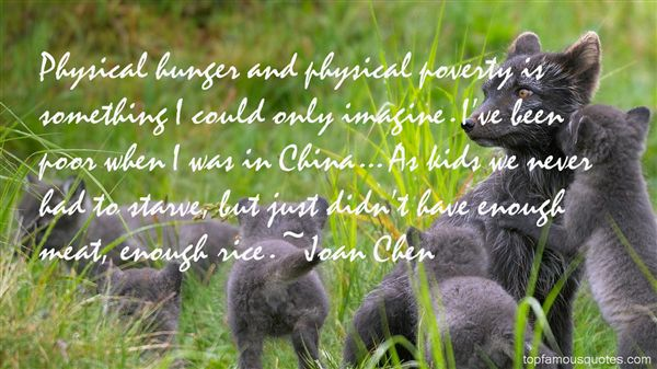 Joan Chen Quotes