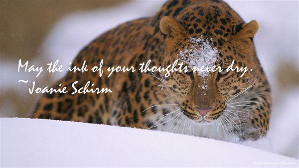 Joanie Schirm Quotes