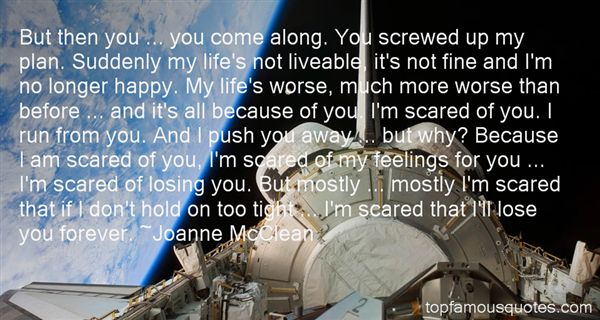 Joanne McClean Quotes
