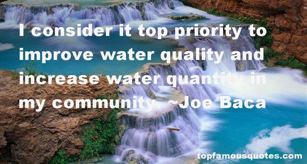 Joe Baca Quotes