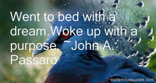 John A. Passaro Quotes