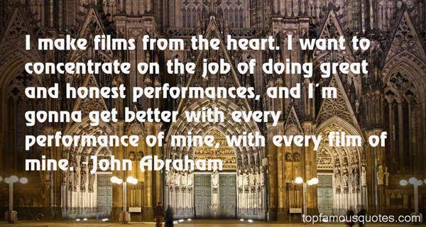 John Abraham Quotes
