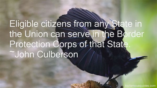 John Culberson Quotes