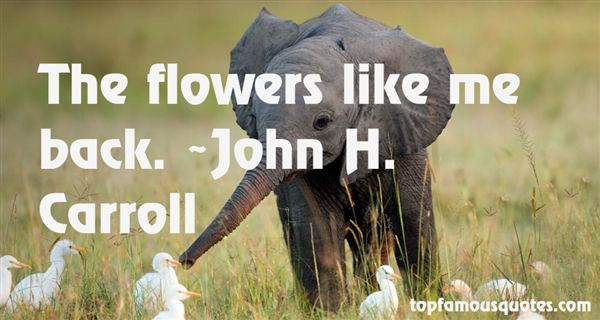 John H. Carroll Quotes