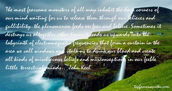 John Keel Quotes