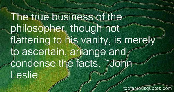 John Leslie Quotes