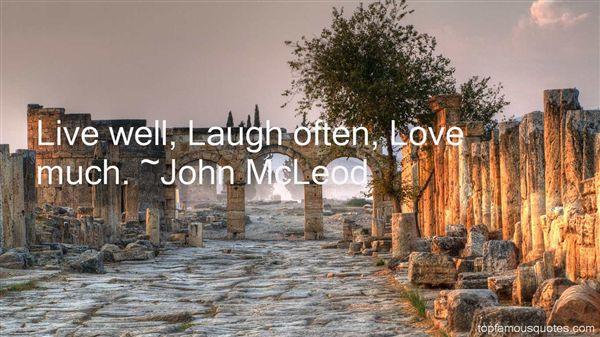 John McLeod Quotes