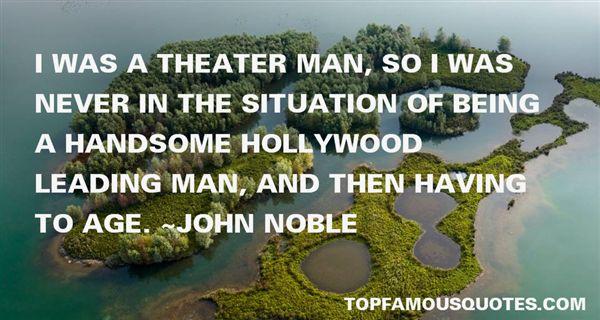 John Noble Quotes