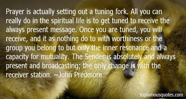John Predmore Quotes