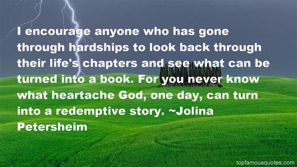 Jolina Petersheim Quotes