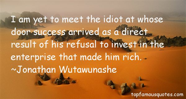 Jonathan Wutawunashe Quotes