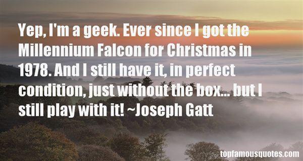Joseph Gatt Quotes