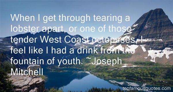Joseph Mitchell Quotes