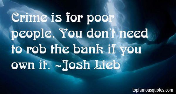 Josh Lieb Quotes