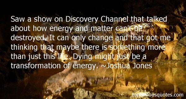 Joshua Jones Quotes