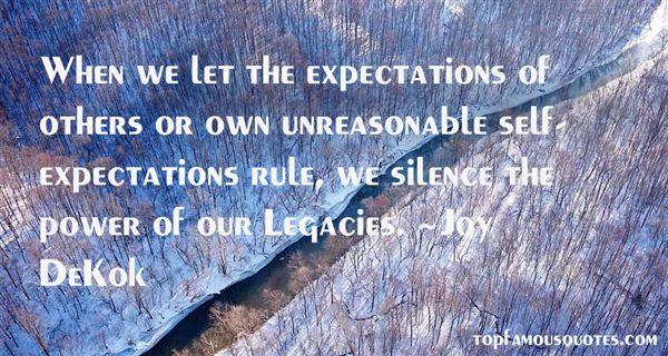 Joy DeKok Quotes
