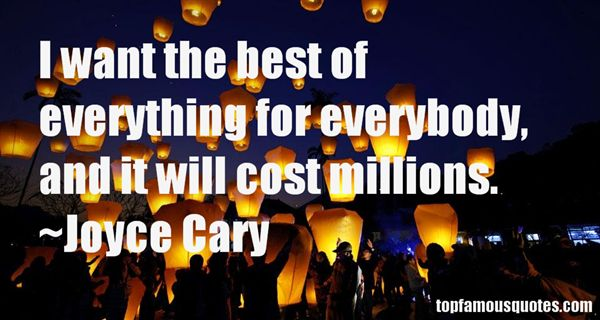 Joyce Cary Quotes