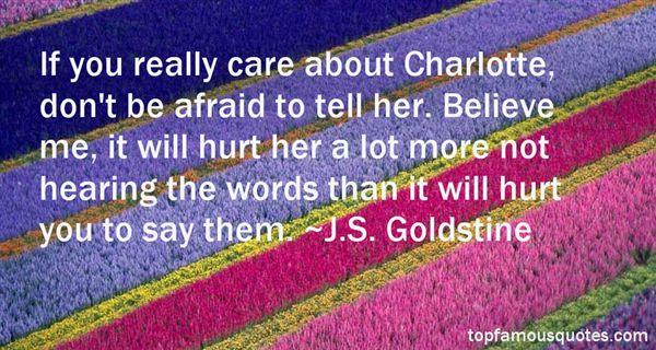 J.S. Goldstine Quotes