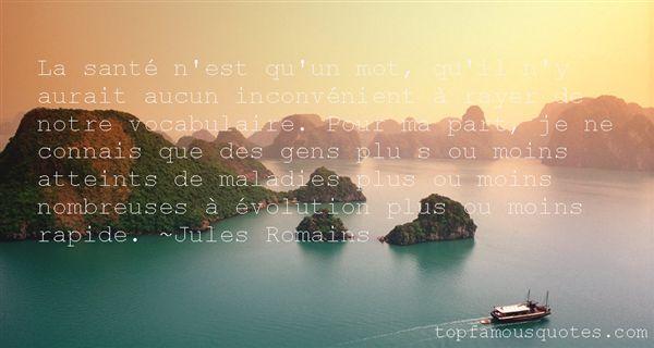 Jules Romains Quotes