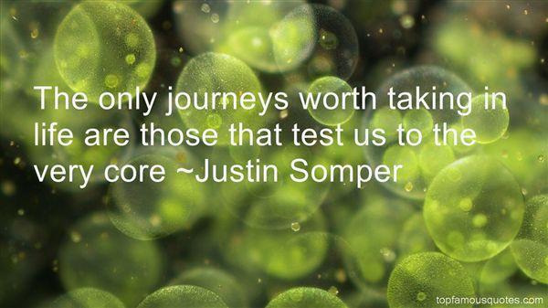 Justin Somper Quotes