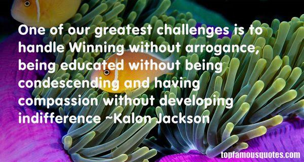 Kalon Jackson Quotes
