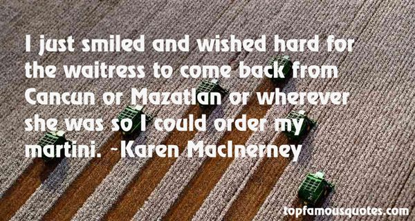 Karen MacInerney Quotes