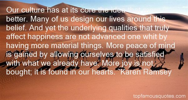 Karen Ramsey Quotes