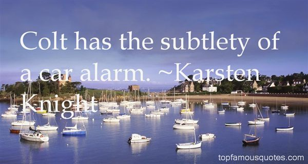 Karsten Knight Quotes
