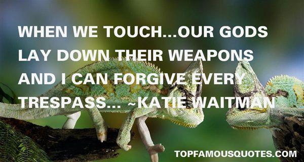 Katie Waitman Quotes