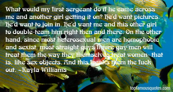 Kayla Williams Quotes