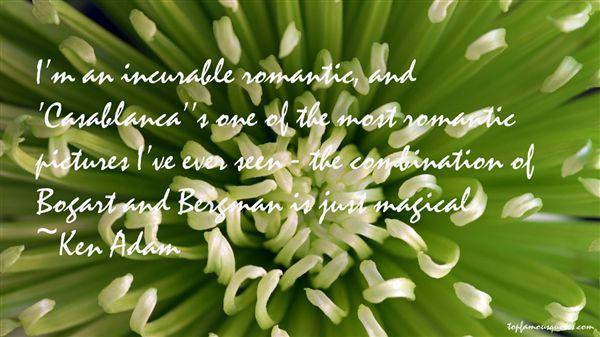 Ken Adam Quotes
