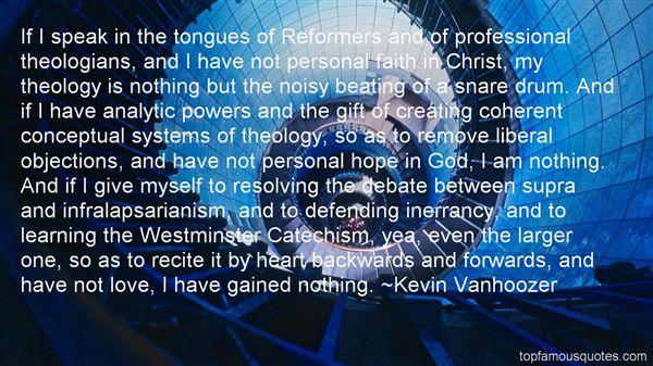 Kevin Vanhoozer Quotes
