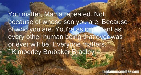 Kimberley Brubaker Bradley Quotes