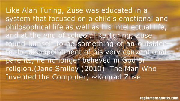 Konrad Zuse Quotes