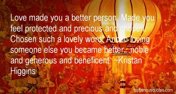Kristan Higgins Quotes