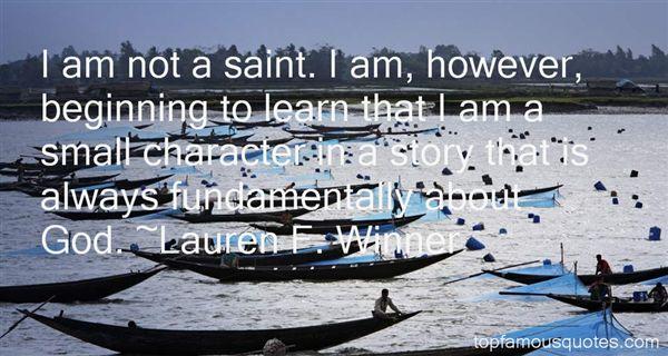 Lauren F. Winner Quotes