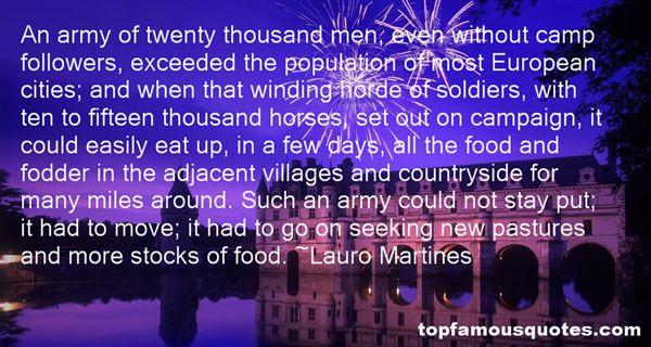 Lauro Martines Quotes